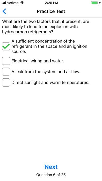 EPA 608 Practice screenshot-4