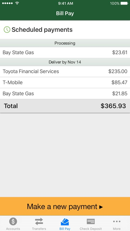 Vermont Fed CU Mobile Banking screenshot-3