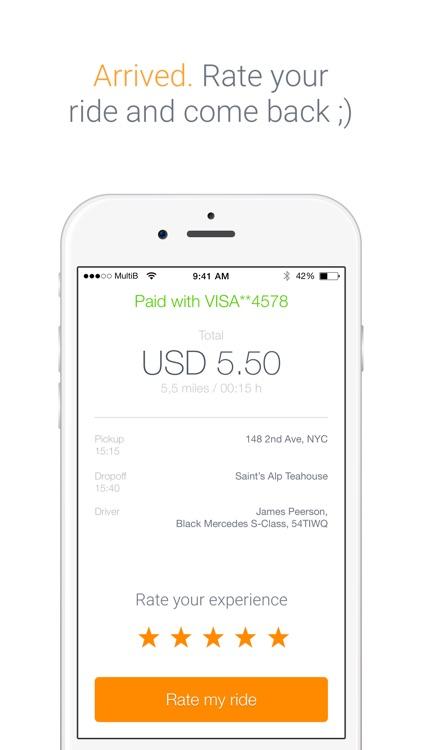 Saytaxi - Get a cab now! screenshot-3