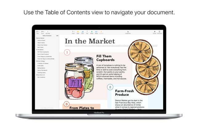 Apple's answer to MS Word