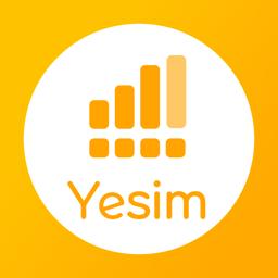 Ícone do app Yesim: eSIM Mobile Data App