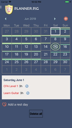 Planner Pig Screenshot