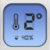 デジタル温湿度計-室内と屋外の温度と湿度の測定