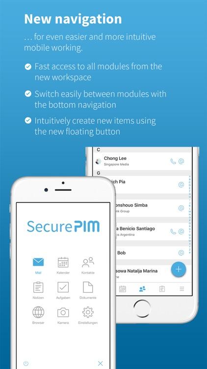 SecurePIM screenshot-7