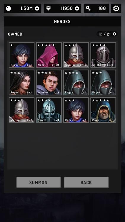 Moonlight Quest: Idle RPG screenshot-5