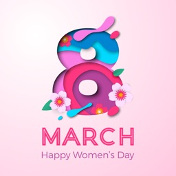 Women's Day Wishes Stickers