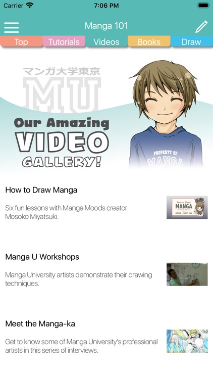 Manga University 101 screenshot-4