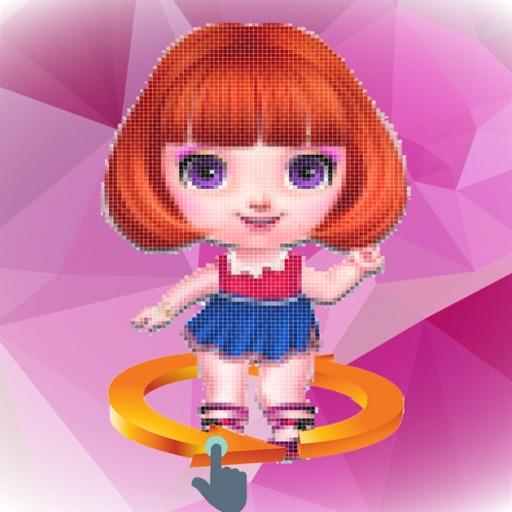 Poly Art Doll: Art Surprise 3d