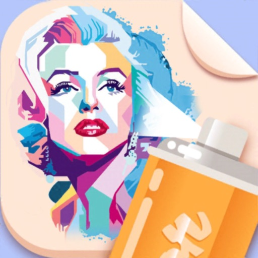 Spray Paint Art Painting Games