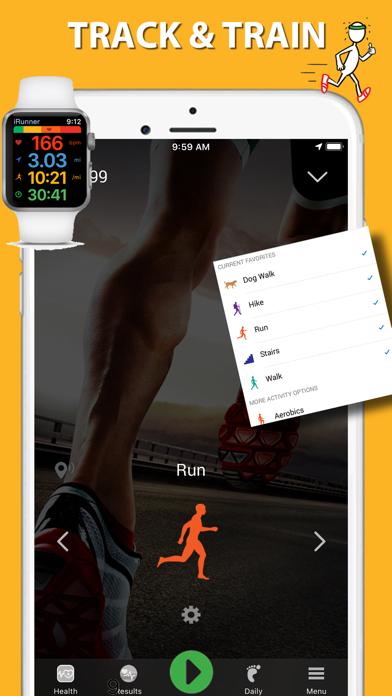 iRunner Run & Jog Trackerのおすすめ画像1