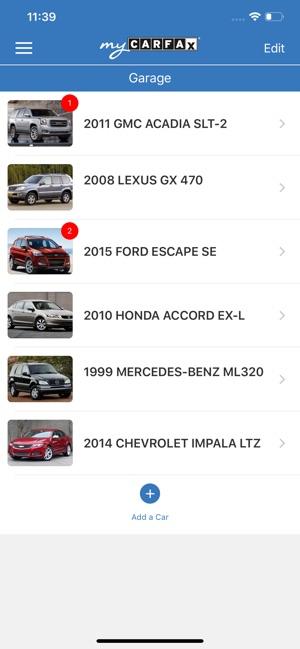 Mycarfax Car Maintenance On The App Store