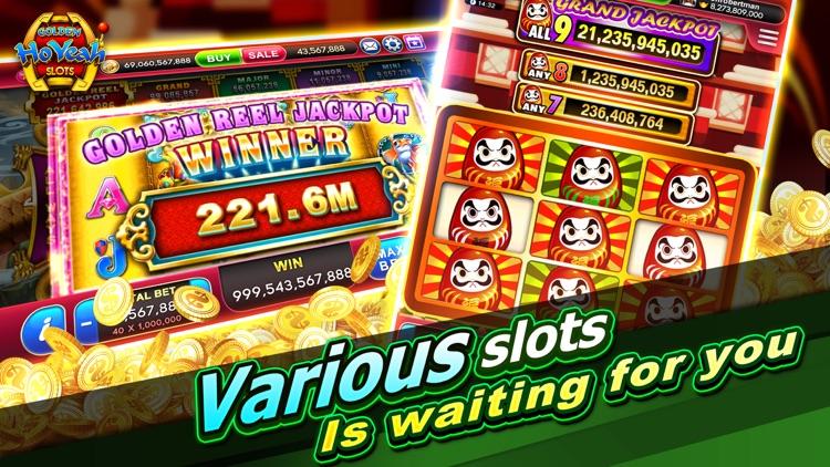 Slots GoldenHoYeah-Casino Slot screenshot-3