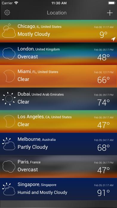 Wther - Weather Forecastのおすすめ画像4