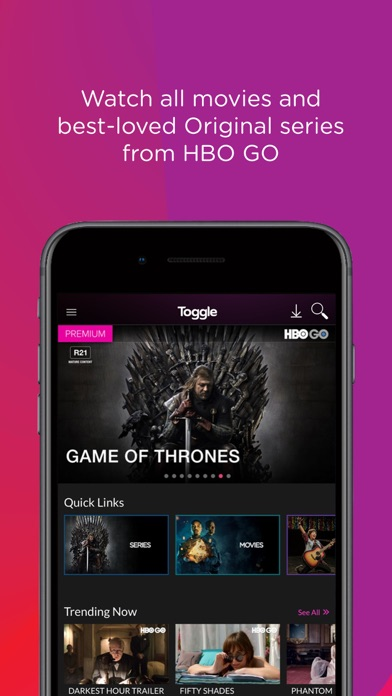 Screenshot for Toggle.sg in Singapore App Store