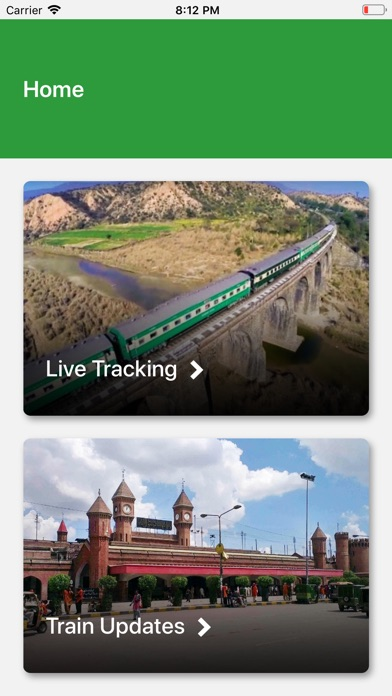 Screenshot for Pak Rail Live in Ukraine App Store