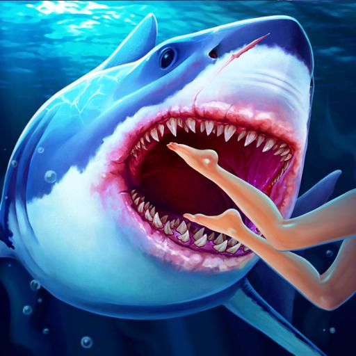 Голодная акула - Симулятор
