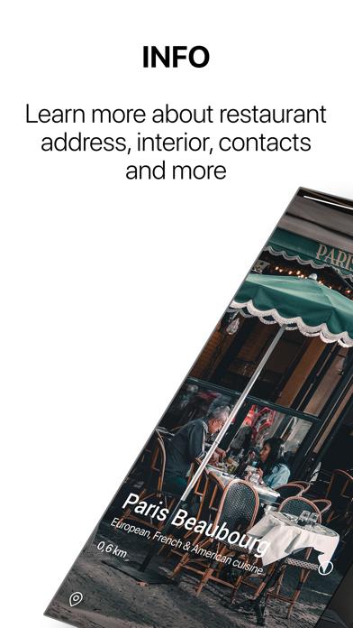 Mayber: Restaurants and DatingScreenshot of 3