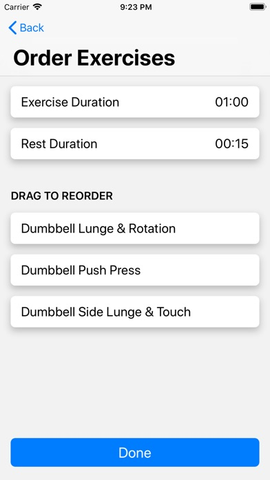 HIIT Trainer screenshot #7