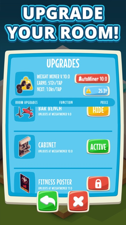 Gym Hero - Idle Clicker Game screenshot-3