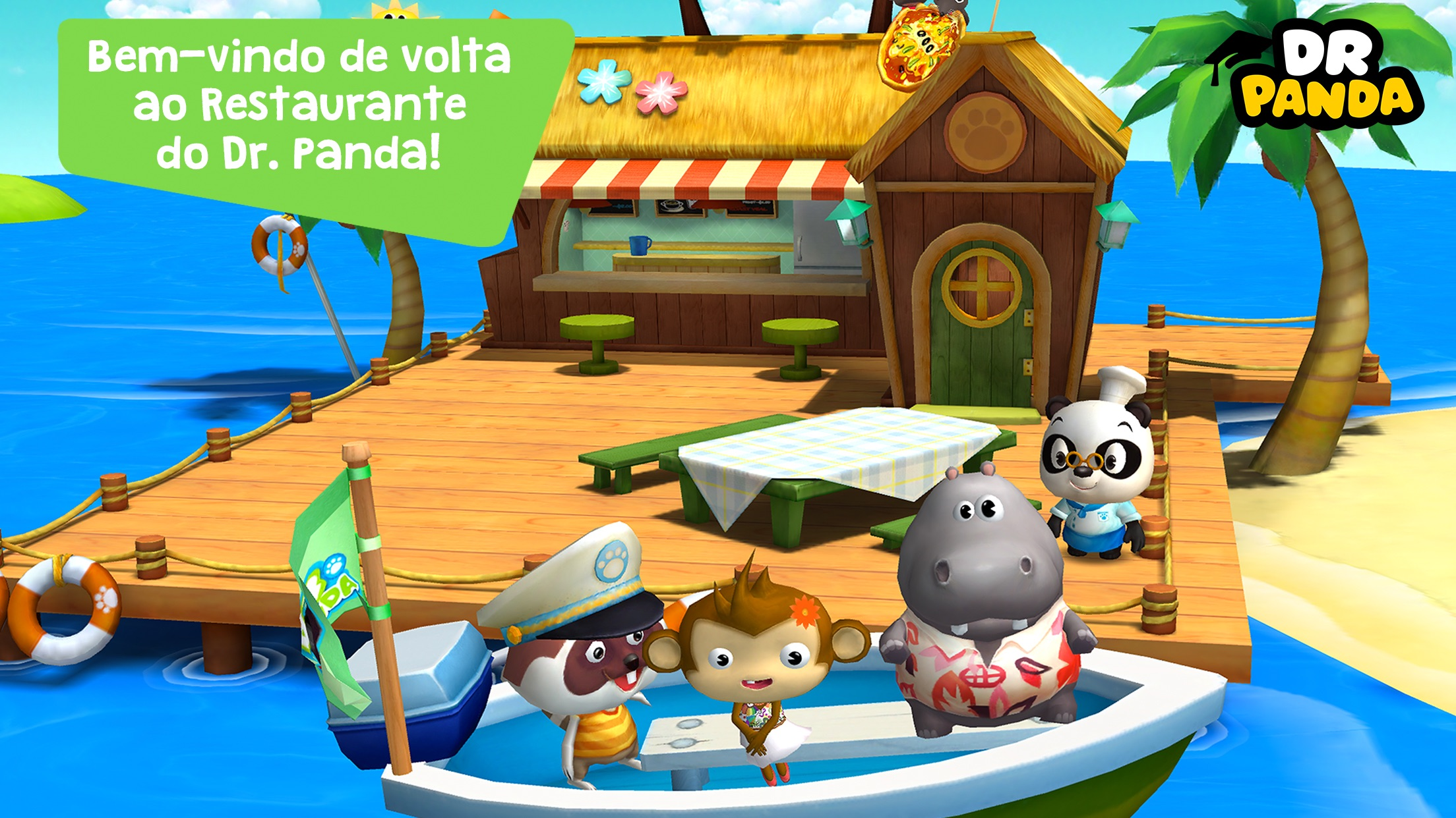 Screenshot do app Dr. Panda Restaurante 2