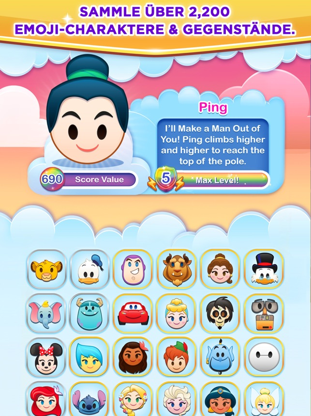 ‎Disney Emoji Blitz Screenshot