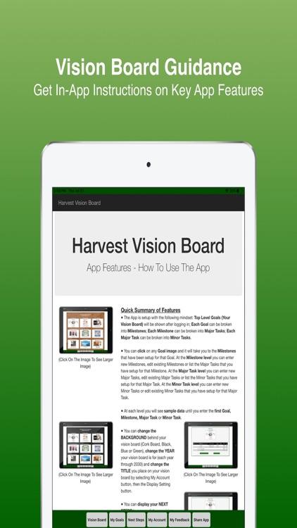 Harvest Vision Board screenshot-7