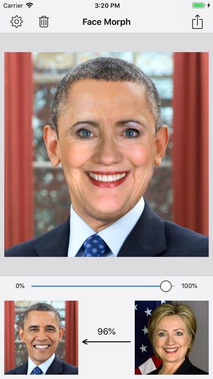 Face Morph - Morph 2 Faces