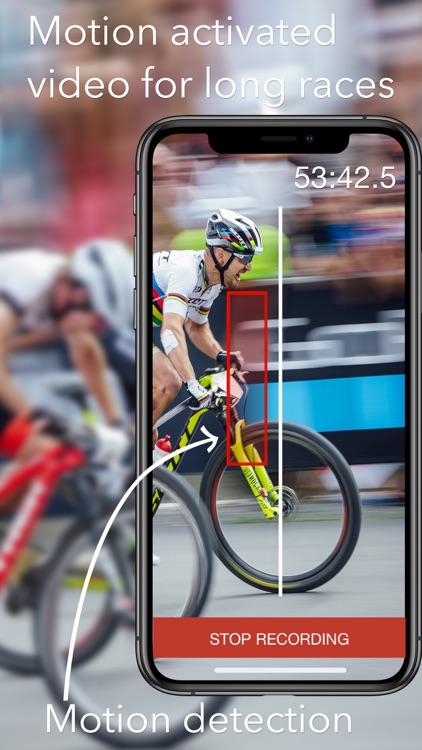 SprintTimer - Photo Finish screenshot-3