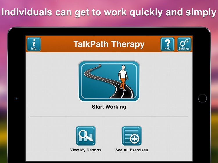 Lingraphica TalkPath Therapy screenshot-0