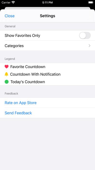 Countdowns - Day Counter screenshot 3