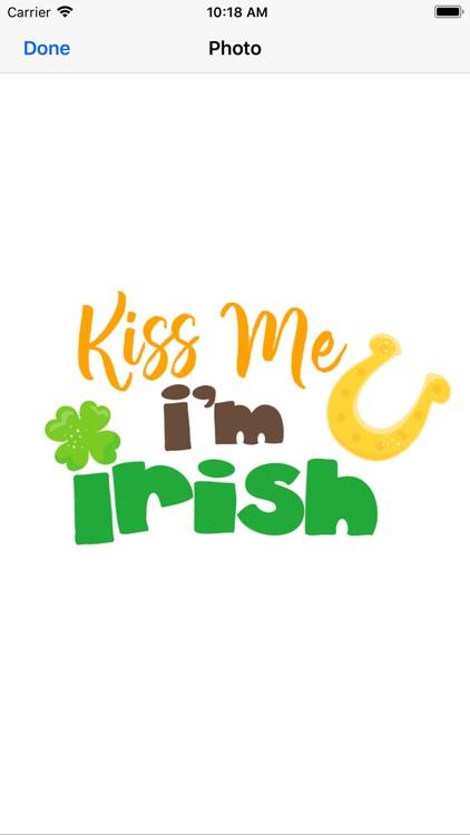 St.Patrick Lucky Green Sticker