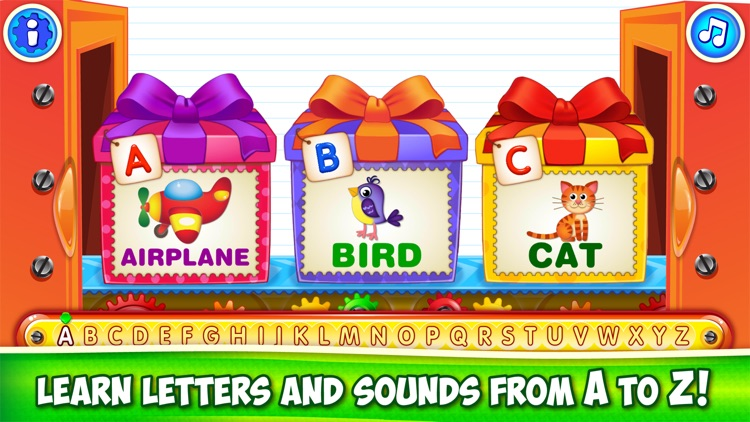 ABC Kids Games: Learn Letters!