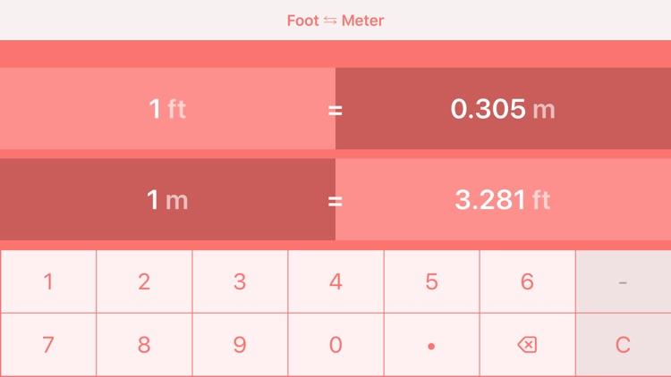 Feet to Meters   ft to m screenshot-3