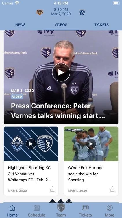 Sporting KC - Official App screenshot-4