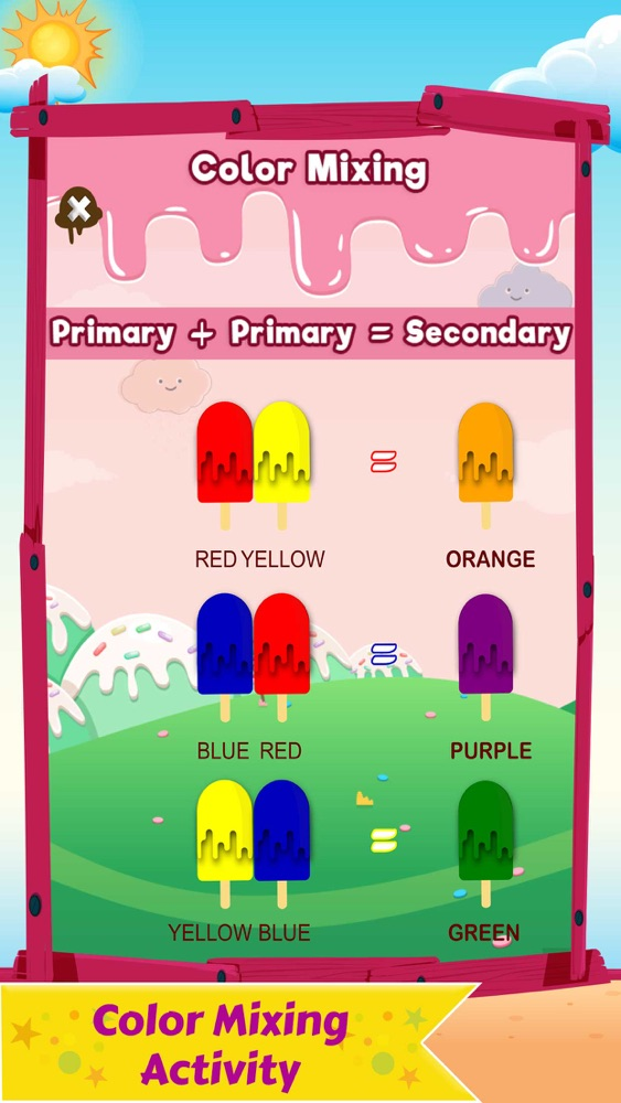Learn Ice Cream Shop Kids Game App for iPhone - Free Download Learn