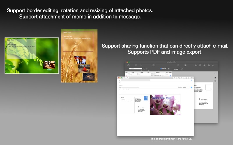 postcardCafe Atelier for Mac
