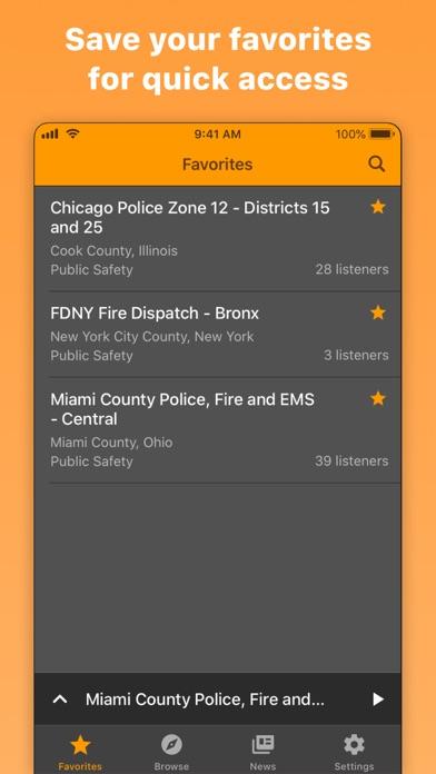 Police Scanner Radio & Fire Screenshot