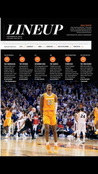 Sports Illustrated Magazine review screenshots