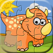 Dino Puzzle: Kids Dinosaurs Puzzles Learning Games icon