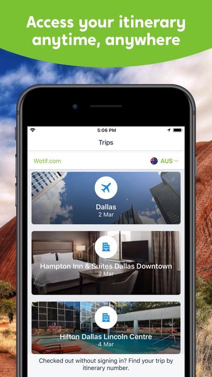 Wotif Hotels & Flights screenshot-3