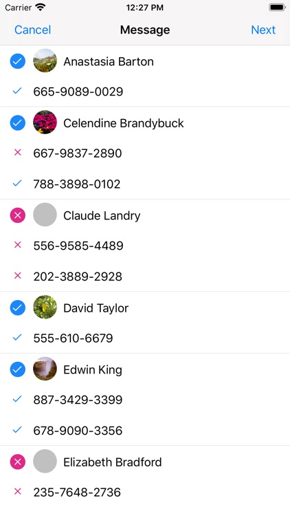 iContacts+: Group Contacts screenshot-4