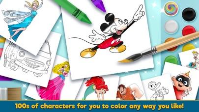 Disney Coloring World app image