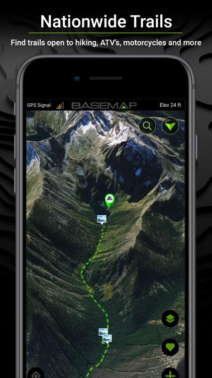 BaseMap: Hunting GPS Maps screenshot-5