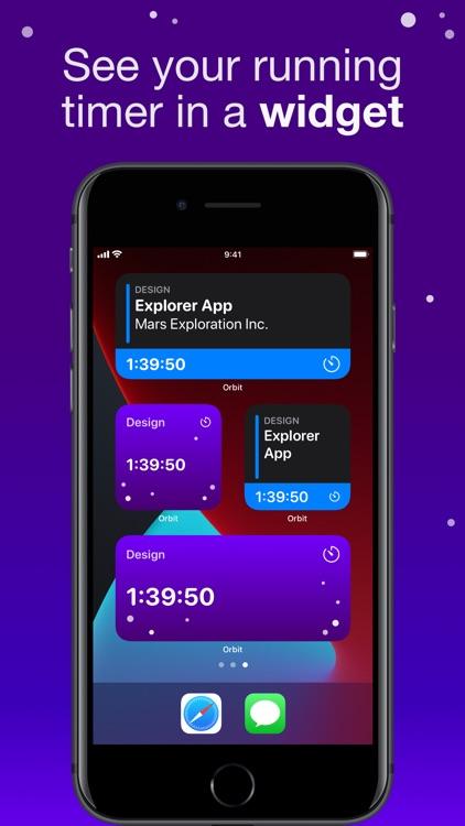 Orbit: Time-based Invoicing screenshot-7