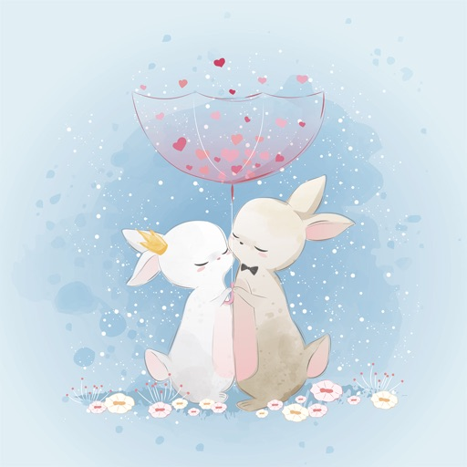 Fairytale Love Stickers icon