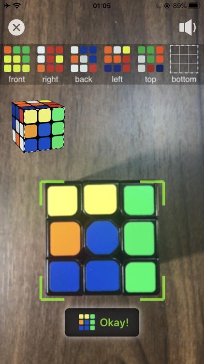 3D Rubik's Cube Solver