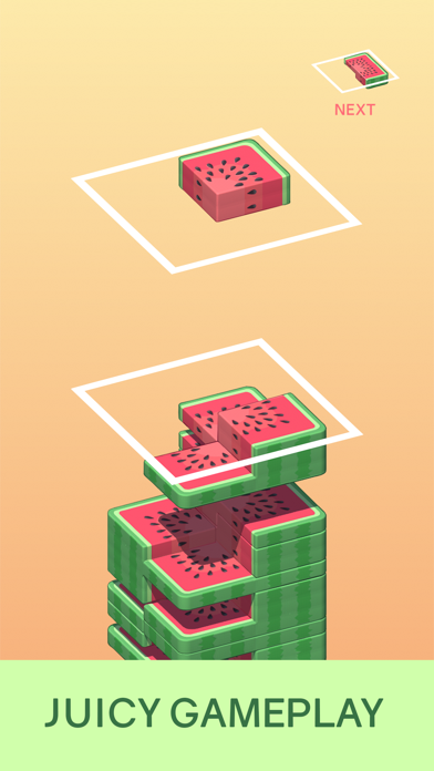 Juicy Stack - 3D Tile Puzzlеのおすすめ画像1