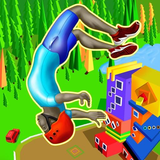 Poly Flipper - Flip & Dive 3D