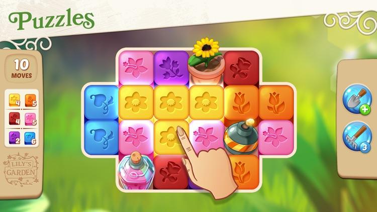 Lily's Garden: Design & Relax screenshot-3