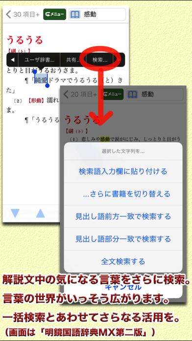 明鏡MX第二版・新漢語林MX【大修館書店】のおすすめ画像6
